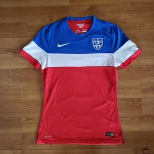 US Women's World Cup 2014 Authentic Soccer Jersey
